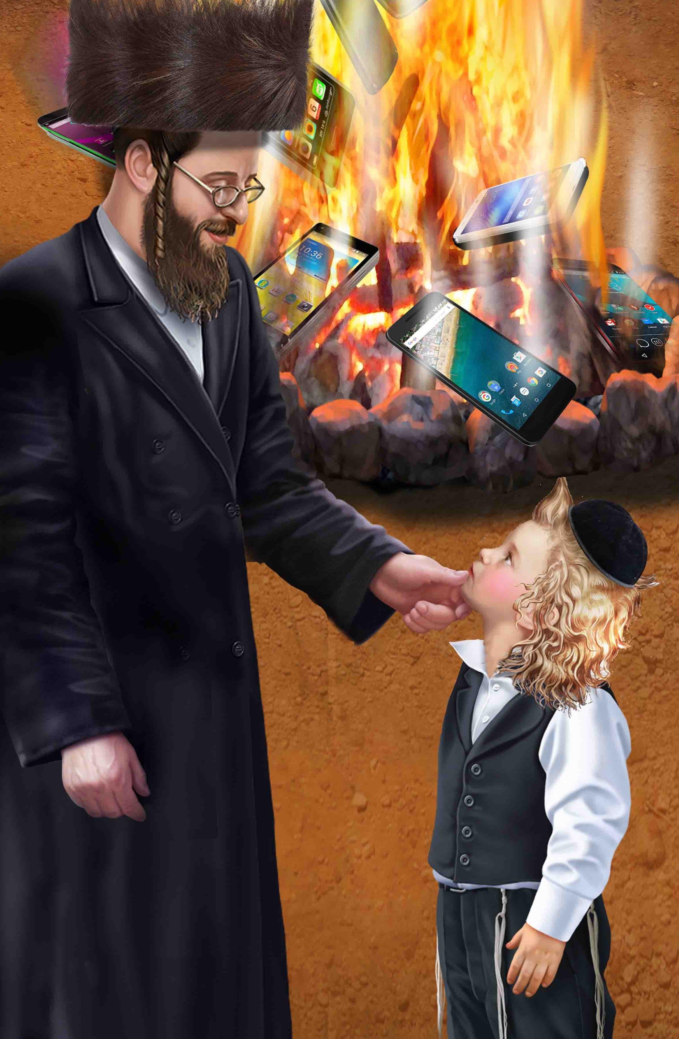 יישר כח, אבא! כך אהיה יהודי אמיתי!