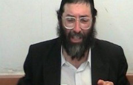 הרב דוב גרשון מלצר – קריית הרצוג בית חנוך