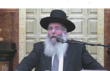 הרב מאיר קסלר בהספד על הרב שלמה זלמן אולמן זועק על מצב הצניעות.