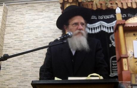 הרב שריאל רוזנברג – בית אריה