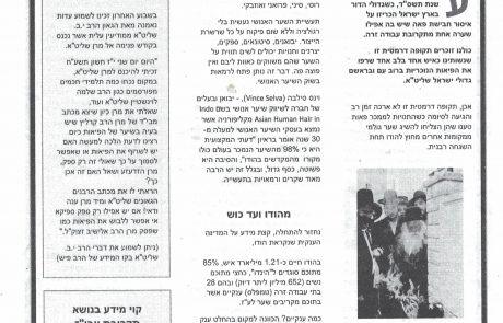 מסמר שיער 1 תחקיר בעניין עבודה זרה וראיון עם הרב אברהם שלזינגר , ורבנים נוספים.